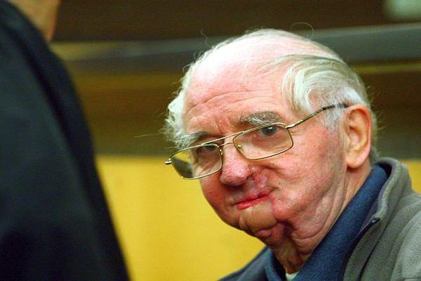 Joachim Toro, accusé d'un triple homicide à Rivesaltes en 2011, devant les Assises de Perpignan. L'homme a tenté de se suicider après les meurtres- 25 janvier 2016.