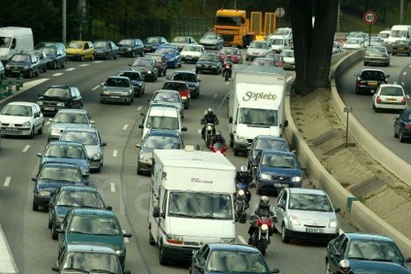 L'autoroute A13 est rouverte depuis lundi soir, vers 20h, indique Sytadin sur son compte twitter (image d'illustration)