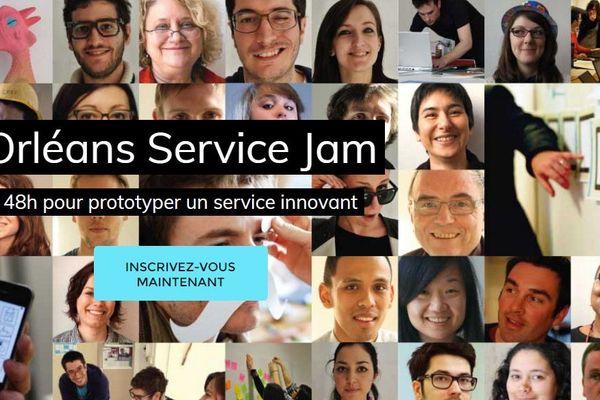 Orléans est l'une des 100 villes d'accueil du Global Service Jam.