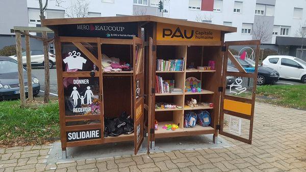 Kiosque Solidaire à Pau