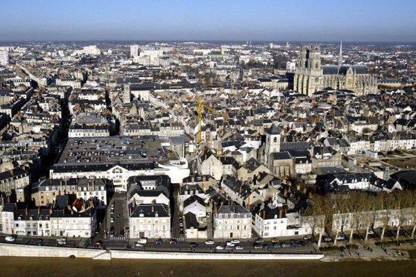La ville d'Orléans