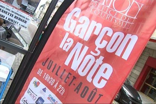 """Le festival """"Garçon la Note"""" animera les terrasses dijonnaises tout l'été."""