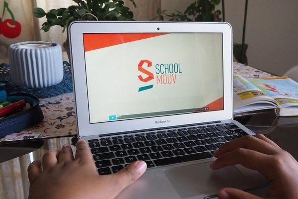 Le site internet de Schoolmouv.