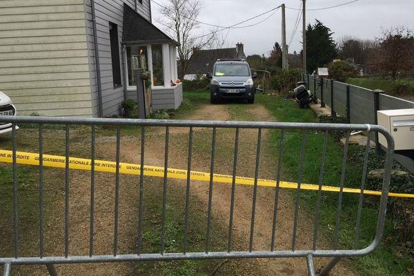 Guiclan, la maison où les quatre membres d'une même famille ont été retrouvés morts