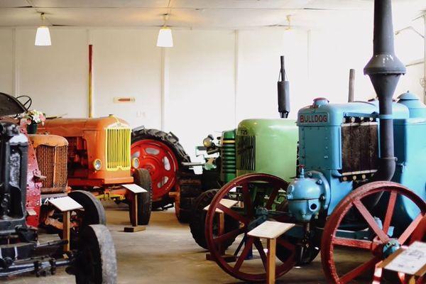 Le musée compte cinquante tracteurs d'exception