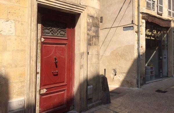 Le domicile de la victime, rue Fontaine à Bergerac.
