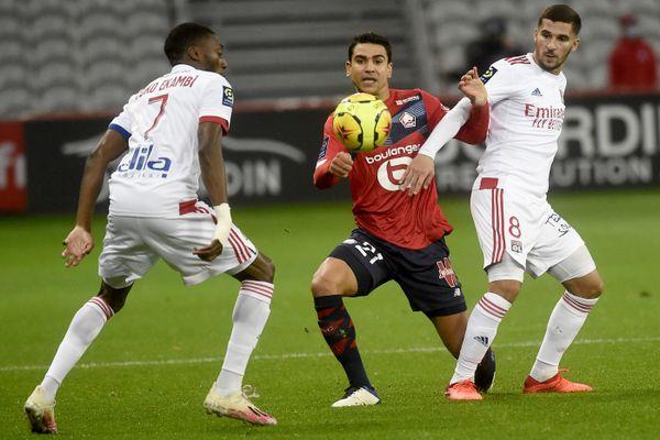 Le Losc a buté sur Lyon en concédant un match nul lors dela 9ème journée de Ligue 1.