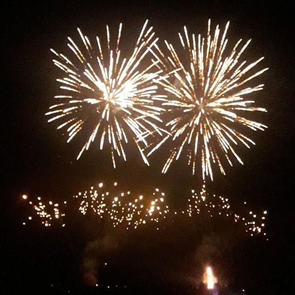 Le feu d'artifice de Lingolsheim.