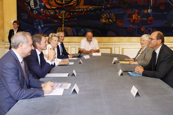Jean-Luc Moudenc reçu à Matignon le 11 juillet 2020.