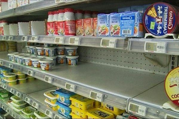 Grève SNCM vers un risque de pénurie alimentaire en Corse