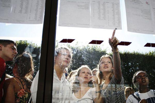 Dans la soirée du 4 juillet, la veille du rendu officiel des résultats, certains lycéens ont pu accéder à leurs résultats.