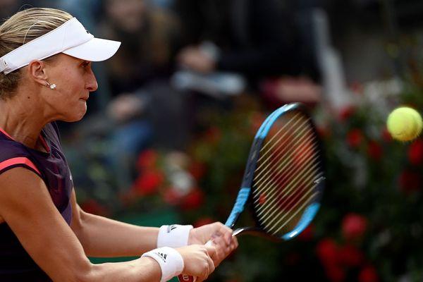 La Française a été battue en quarts de finale des Masters 1000 de Rome.