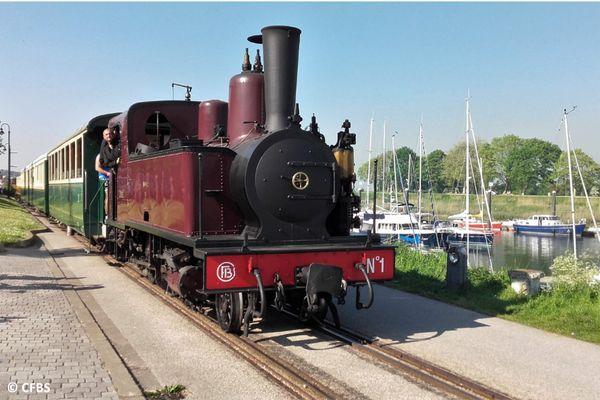 La locomotive 030T Pinguely des Chemins de Fer de la Baie de Somme