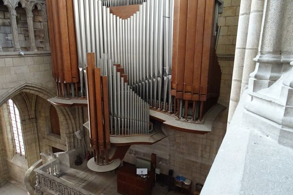 L'orgue aux 50 jeux de la cathédrale de Limoges sera prochainement démonté pour une révision complète
