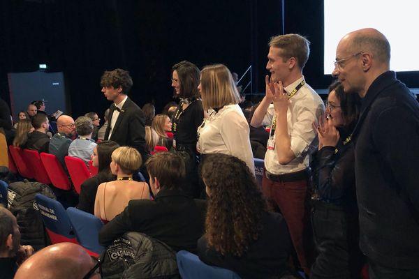 Le Jury Jeunes, parrainé par l'écrivain Bernard Werber.