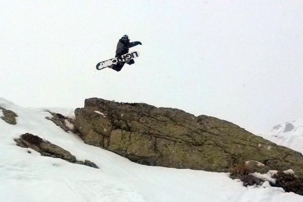 14/02/15 - Deuxième week-end d'ouverture de la station de ski de Ghisoni (Haute-Corse)