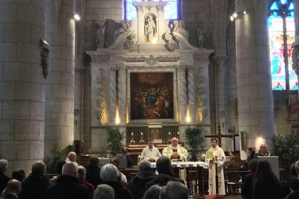 Une messe a été célébrée en ce jour de Noël à l'église St-André d'Angoulême qui a été fermée pendant deux ans.