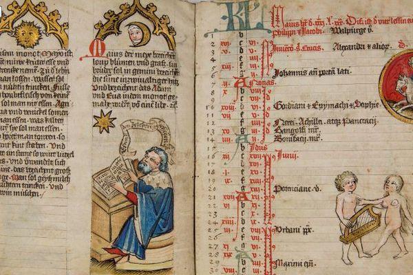 Manuscrit alsacien du 15e siècle