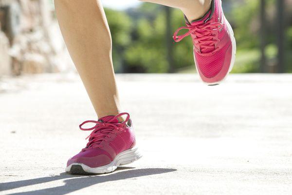 Le plaisir de chausser des baskets et d'aller faire un jogging