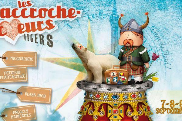 L'affiche des Accroche-Coeurs 2012