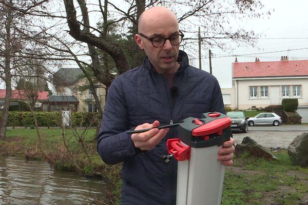 David Monnier a conçu Orisa, un purificateur d'eau