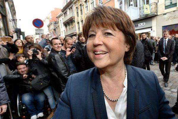 Martine Aubry, à Lille, le 22 novembre 2014.