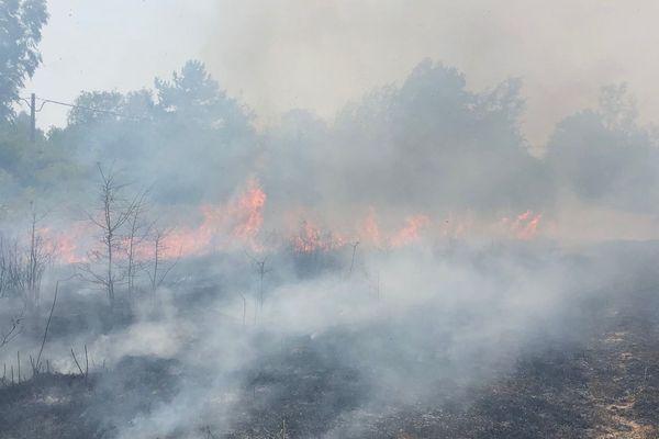 Les feux de récoltes ont été maîtrisés au cours de la journée.