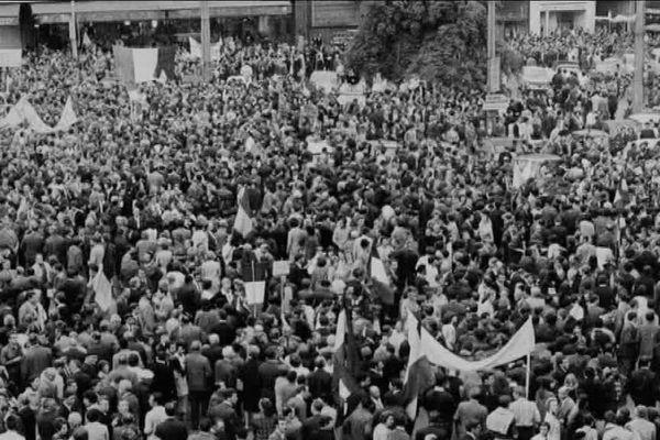 Les événements de Mai 68 ont également touché la Bourgogne-Franche-Comté