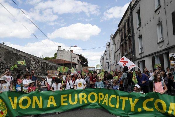 Les protestations contre le projet EuropaCity continuent malgré l'annulation du PLU de Gonesse en mars dernier. (illustration)