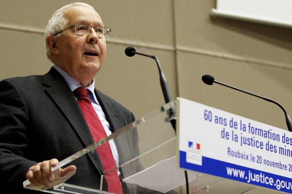 Pierre Dubois, maire de Roubaix, en novembre 2012.