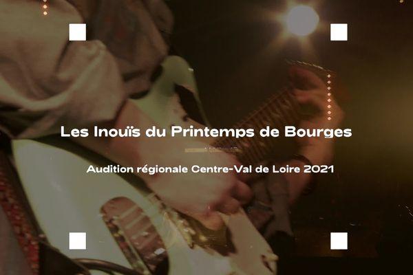 Les Inouïs du Printemps de Bourges 2021 : l'audition régionale a eu lieu le 13 février à Bourges.