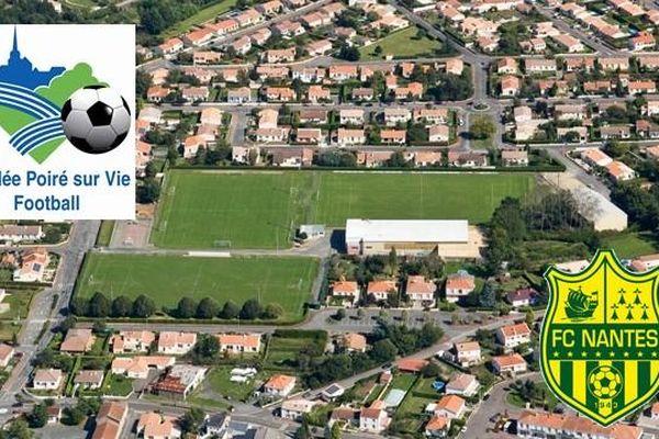 Le stade de Mouilleron le Captif accueillera la rencontre Le Poiré sur Vie - FC Nantes