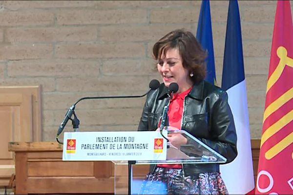 Carole Delga a installé le parlement