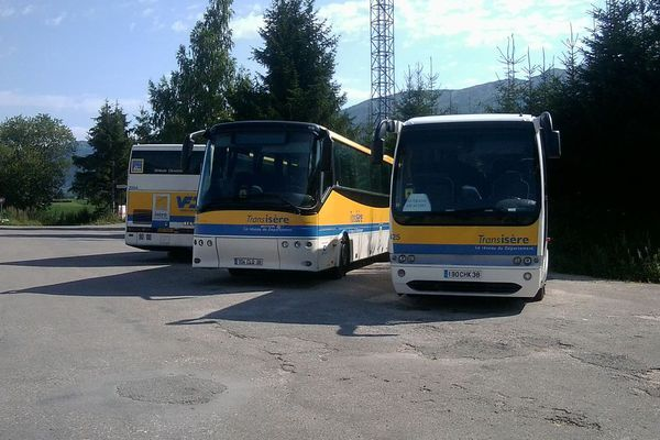 Photo d'illustration. Bus VFD Transisère.