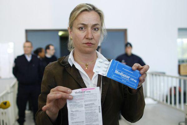 La pneumologue Irène Frachon lors du procès pénal dans l'affaire du Médiator - Nanterre - 14/05/2012