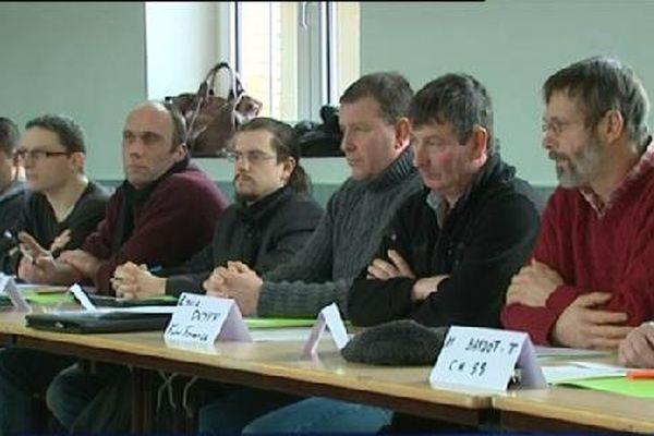 Agriculteurs et professionnels de la grande distribution se sont rencontrés.