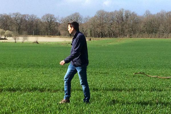 Sommières-du-Clain (Vienne) - Philippe Tabarin, nouveau président de la Chambre d'agriculture de la Vienne - 4 mars 2019.
