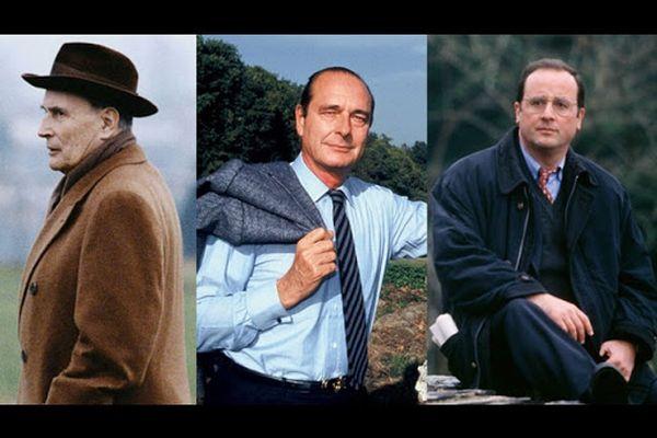 """Documentaire """"Les racines du pouvoir""""  (François Mitterrand, Jacques Chirac et François Hollande)"""