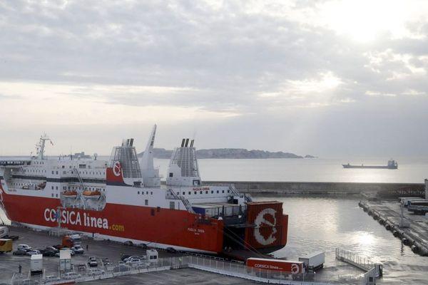 Le trafic a repris avec encore quelques perturbations sur les traversées vers la Corse et l'Algérie.