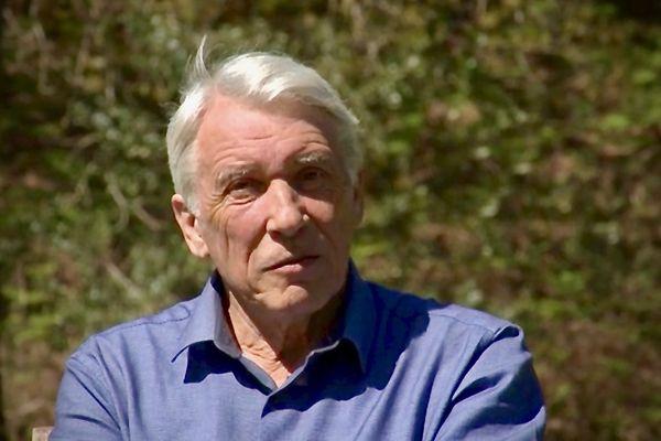 Gilbert Mitterrand à Latche dans les Landes. Avril 2021