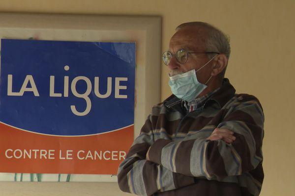 Michel Martin, président de la Ligue contre le Cancer, oscille entre colère et inquiétude pour les patients.