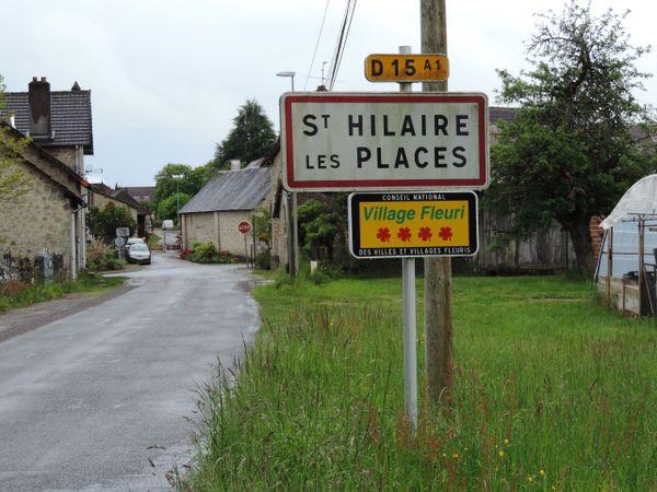 Saint Hilaire les Places village fleuri de Haute-Vienne.