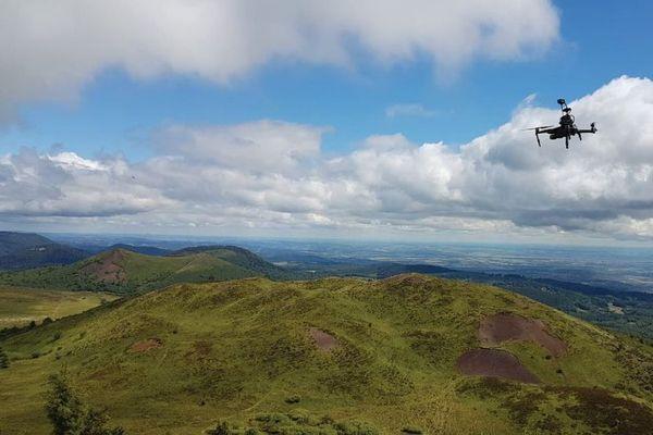 L'utilisation des drones représente une réelle avancée pour l'étude des volcans.