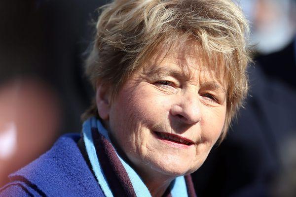 Marie Guite Dufay, présidente de la région Bourgogne Franche-Comté