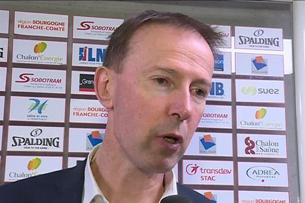 Vincent Collet, l''entraîneur de la SIG