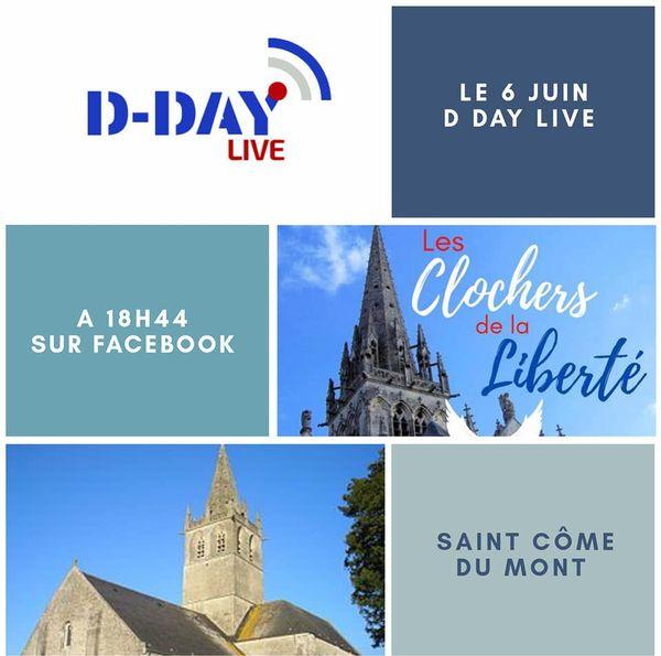 """1300 communes participent à l'opération """"clochers de la liberté"""" ce 6 juin 2020 à 18h44."""