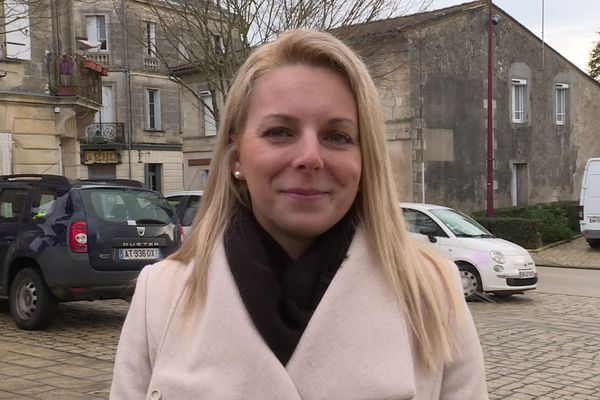 Edwige Diaz, leader du Rassemblement National en Gironde.