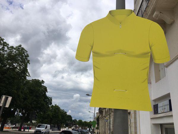 La ville de Libourne s'est mise aux couleurs du Tour de France.