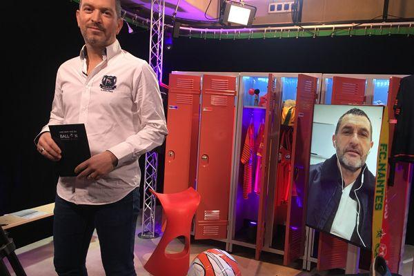 Stéphane Rossi, entraîneur du SO Cholet, invité de l'émission #USBFOOT et d'Anthony Brulez