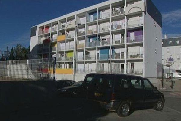 Montpellier - quartier du Petit Bard - 5 novembre 2012.